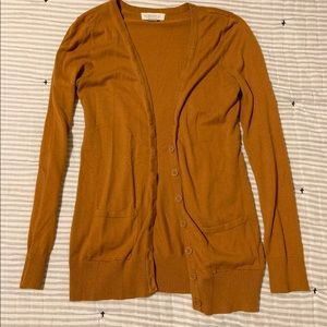 ⭐️ Burnt Orange Button Up Cardigan